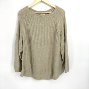 Style & Co Hammock Heather Knitted Sweater